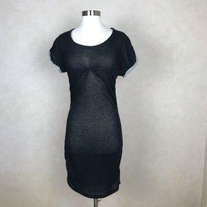 Isabel Marant Etoile   Black Mini T-shirt Dress